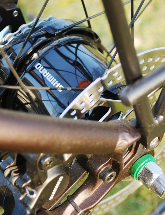 Shimano Alfine hub gears