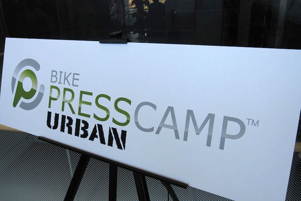 A variety of manufacturers attended the first annual Bike PressCamp-Urban