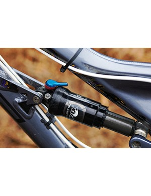 The Fox FLOAT RL shock features a lockout, should you want to mash the pedals