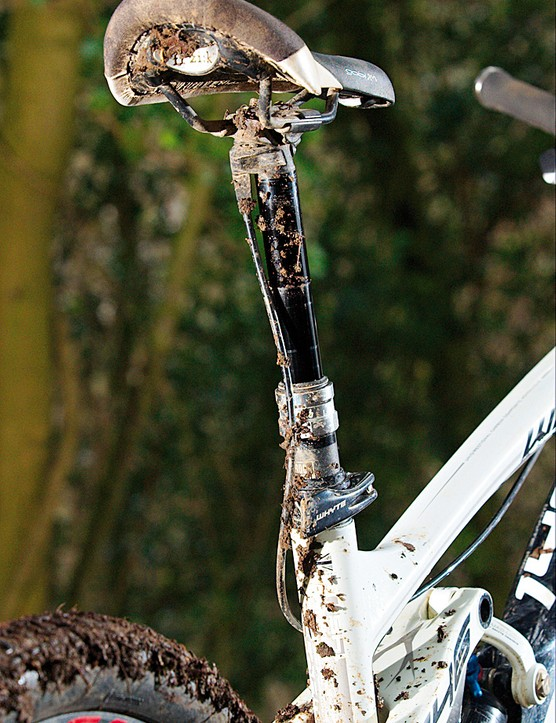 Brand new  RockShox Reverb  seat post is a winner