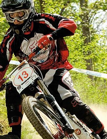 Neil Donohue in his Team BikeRadar days