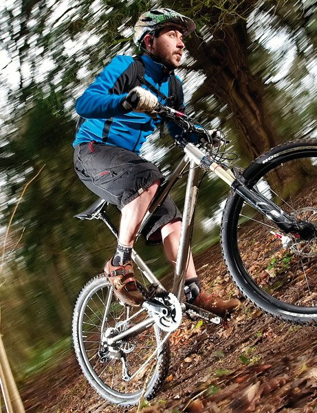 """On-One's updated Ti 456 frame's still the undisputed super value, sweet riding technical singletrack king"