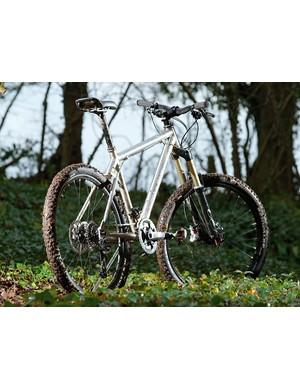 Titanium frame and a bargain price make the Ti 456 a top trail contender