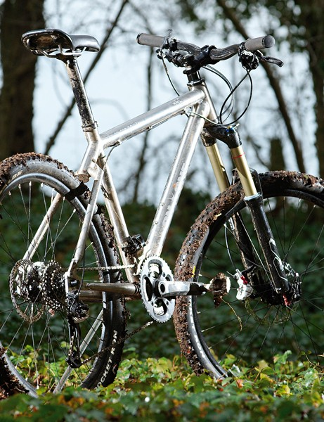 Titanium frame and a bargain price make the Ti 456 a top trail contender