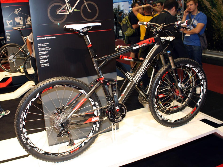 BMC's Fourstroke FS 01 is one of the bikes covered by the new crash replacement scheme