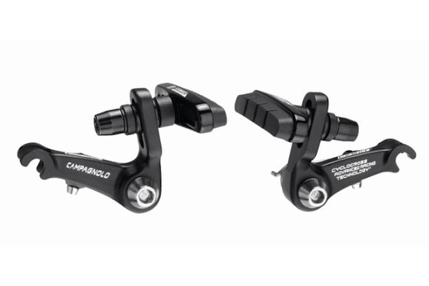 Campagnolo's new cyclo-cross cantilever in black