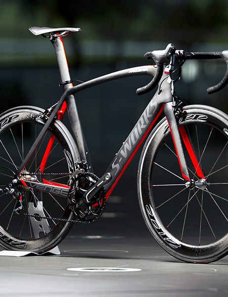 The Specialized McLaren Venge was launched at McLaren's HQ in Woking, UK today