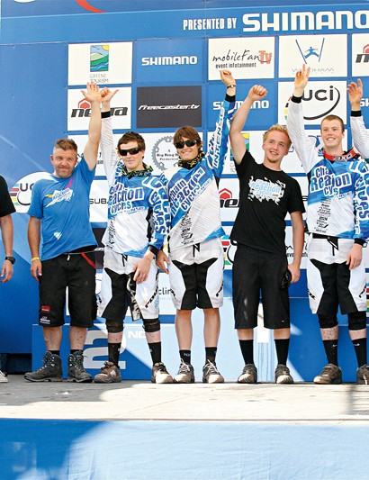 Ruaridh's old squad, CRC-Intense, were the top UCI World Cup team last year