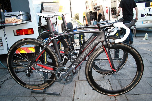Mark Cavendish's Specialized McLaren Venge