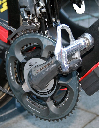 Shimano Di2 mount under the downtube