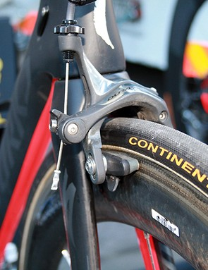Continental Sprinter 250 tubulars mountain on Zipp rims
