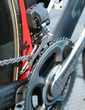 Shimano Dura-Ace Di2 and SRM. Top end technology.