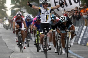 Matthew Goss (HTC-Columbia) wins the 102nd Milan-San Remo