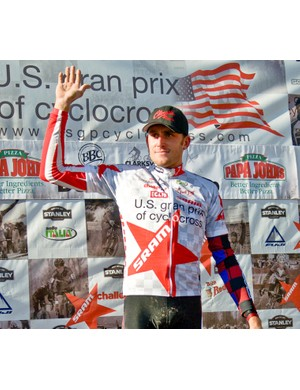 Trebon has held US national titles in cyclo-cross, cross-country and short track, as well as winning the US Gran Prix of Cyclocross series four times