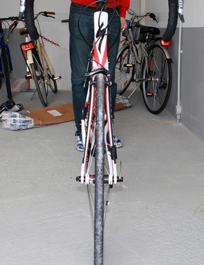 Aerodynamics are at the heart of the design of the Venge