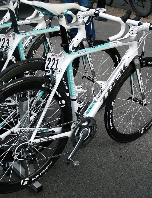Fabian Cancellara's Trek Madone 6.9 SSL