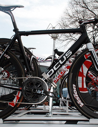Katusha were using a Focus prototype for the 2012 season