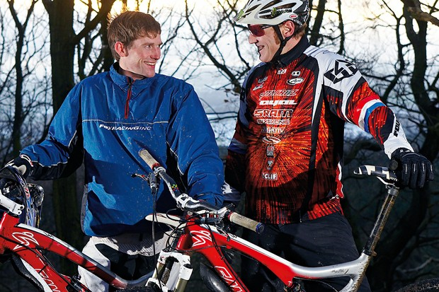 Michael Vickers and Steve Peat