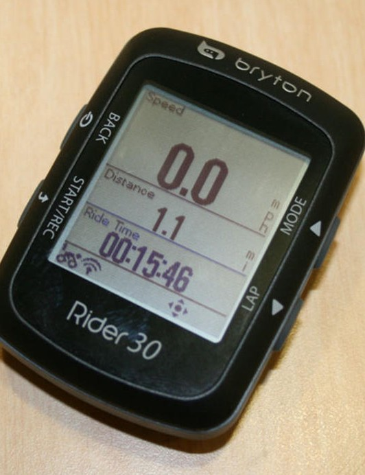 Garmin say the Bryton 30 mimics the appearance and functionality of their Edge 500
