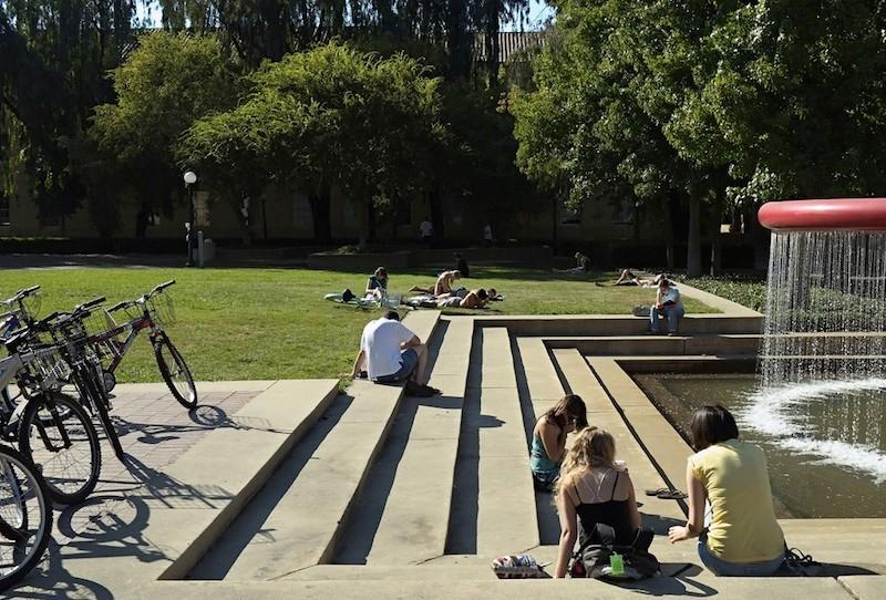Stanford's bike friendly campus