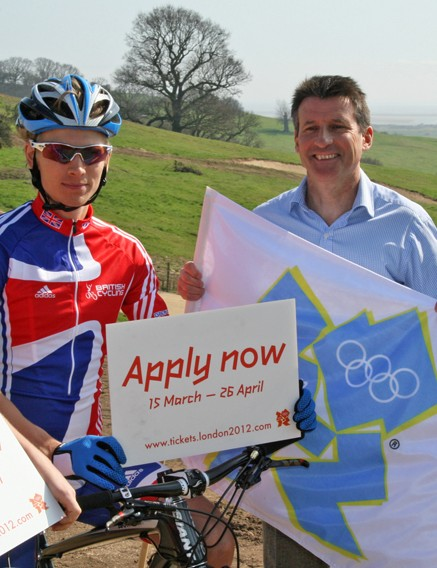Want to watch the Olympic mountain biking? You'll need to apply for tickets