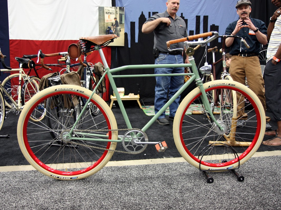 ANT showed off this simple mint green townie at NAHBS