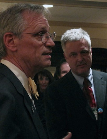 Congressman Earl Blumenauer (D-OR), and the president of Bikes Belong, Tim Blumenthal