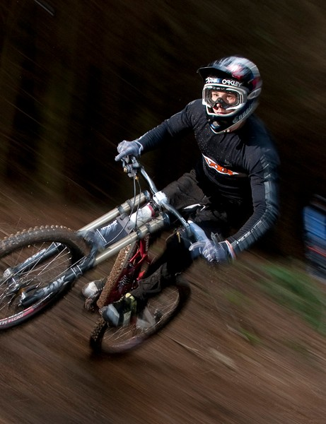 Ruaridh Cunningham is riding for Maxxis-Rocky Mountain this year and hopes to fight his way to the top of the World Cup rankings