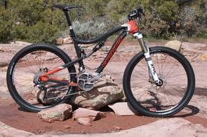 Santa Cruz's new Blur TRc 5in-travel trail bike