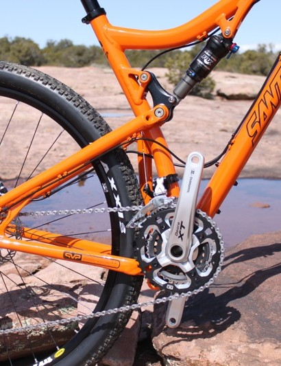 Tallboy now mirrors much of Santa Cruz's line in the sense that it comes in both carbon and alloy