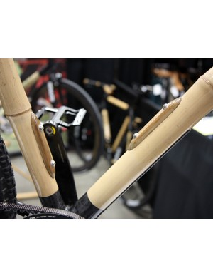 Boo Cycles are using these rather elegant looking bottle mounts on their bamboo frames