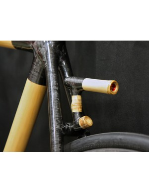 Boo Cycles' hand wrapped carbon fiber joints allow for a lot of creativity