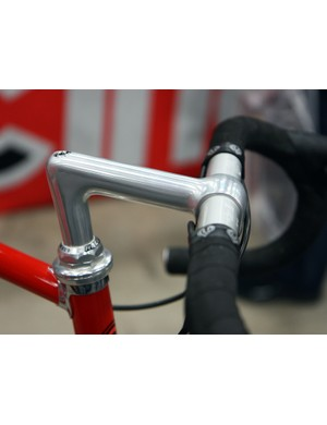 Cinelli have reopened the old tooling for some of their classic bars and stems such as this timeless 1/A model (the X/A is apparently making a rebirth, too). The company haven't decided whether to produce them with 26.4mm clamp diameters for heritage or 26.0mm ones for enhanced compatibility