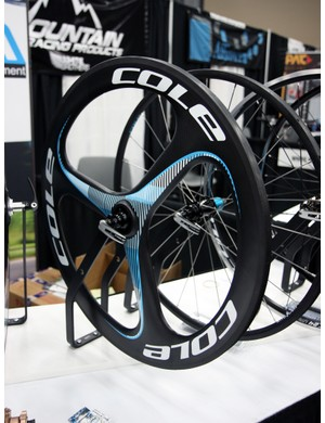 In addition to a variety of spoked wheels, Cole also offer this trispoke model
