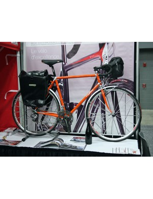 Cyfac also offer more traditional machines such as this lugged steel randonneur bike
