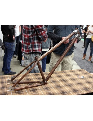 Demon were among the new builders at NAHBS, arriving in Austin with this fetching dirt jumper frame