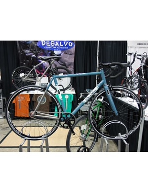 This DeSalvo was one of a few singlespeed road bikes seen at NAHBS