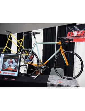New builder Dornbox modeled this steel road racer after a Hollywood racecar