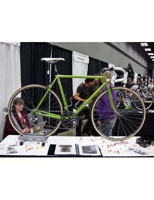 New builders Foresta brought this clean-looking lugged steel road bike to NAHBS
