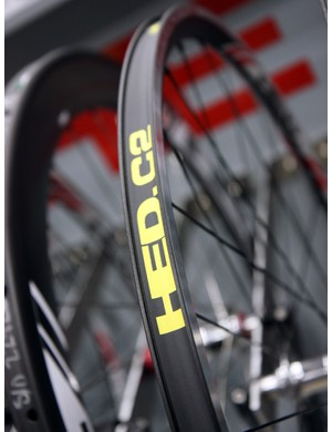 HED were on hand at NAHBS this year touting their wide-profile C2 family of wheels. Based on what we've seen from other companies, the idea is catching on