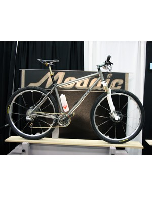 Mosaic's 29in titanium hardtail was one of the more performance oriented bikes at NAHBS