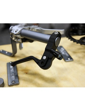 Paul Components' twin pull lever connects two brakes to a single lever