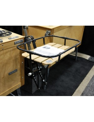Paul Components' clever design lends generous cargo capacity to just about any bike with front rack mounts