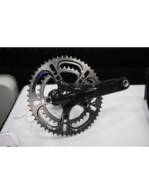 Sampson also previewed their Stratics CL crank with hollow carbon fiber arms and a retail price of US$699 with bottom bracket