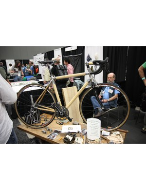 Sylvan Cycles continue to preach the merits of their wooden bikes