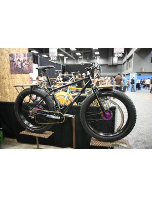 Watson Cycles showed off this rugged snow bike at NAHBS