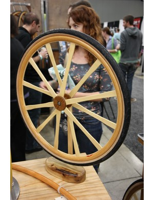 Wheel Fanatyk say they're actually going to put this wooden wheel into production