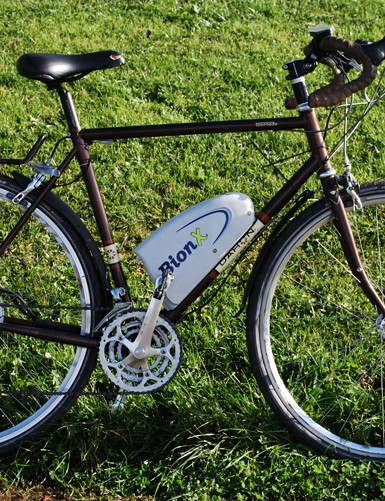 BionX kit mounted on a Dahon Tourna