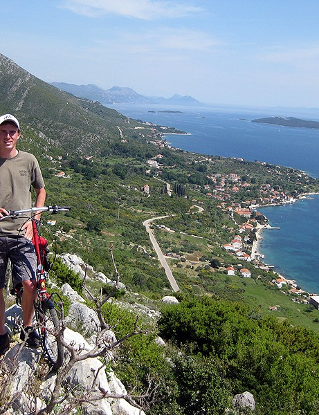 Bicycle Touring Pro in Croatia