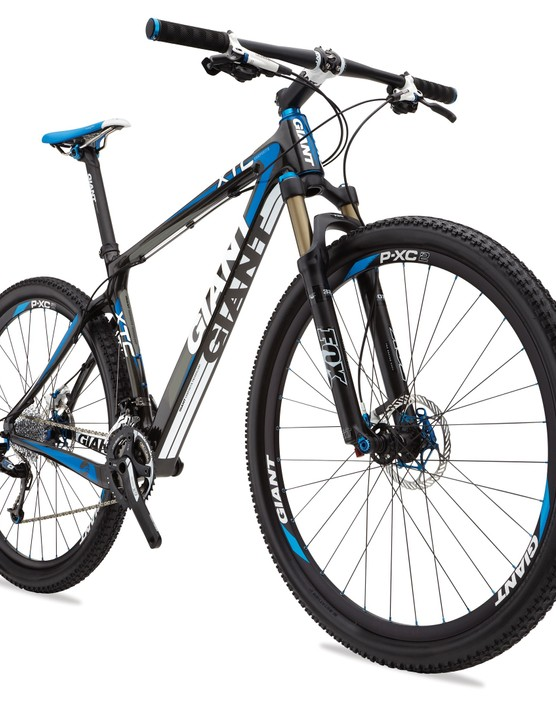 Giant's new top-end 29er hardtail flagship will be the XtC Composite 29er 0